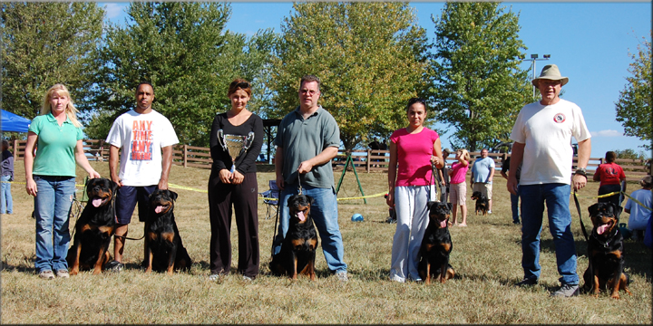 ARV National 2010 Best Kennel Group